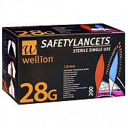 Ланцеты Wellion Calla 28G, 200 шт.